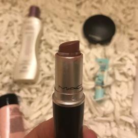 MAC Satin Lipstick in the shade verve.
